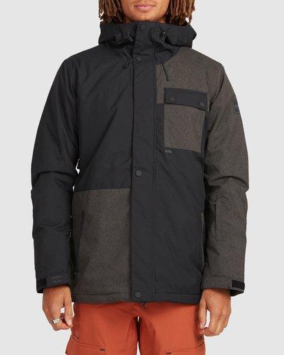 0 Arcade Jacket Black U6JM28S Billabong