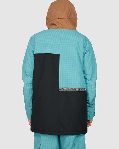 3 Arcade Jacket Blue U6JM28S Billabong