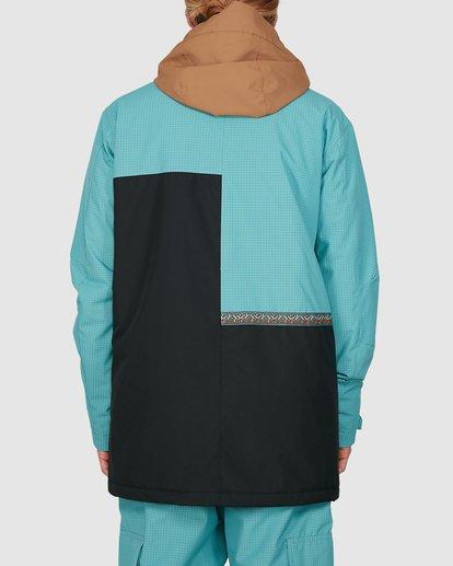 2 Arcade Jacket Blue U6JM28S Billabong