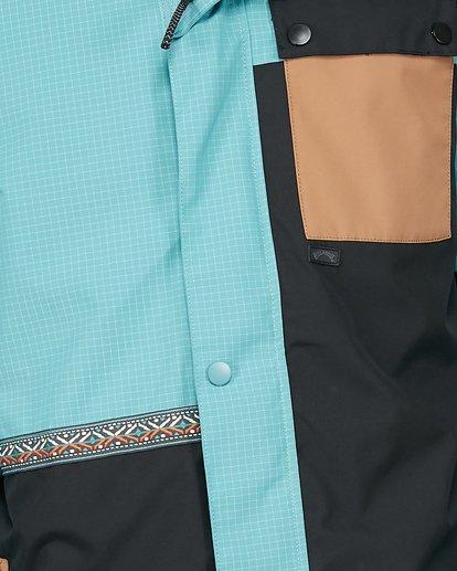 4 Arcade Jacket Blue U6JM28S Billabong