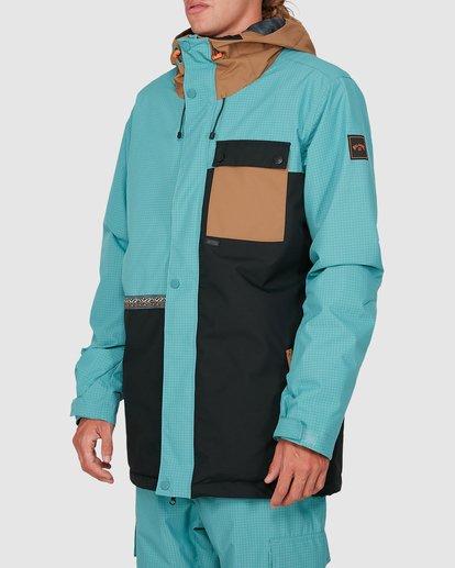 1 Arcade Jacket Blue U6JM28S Billabong