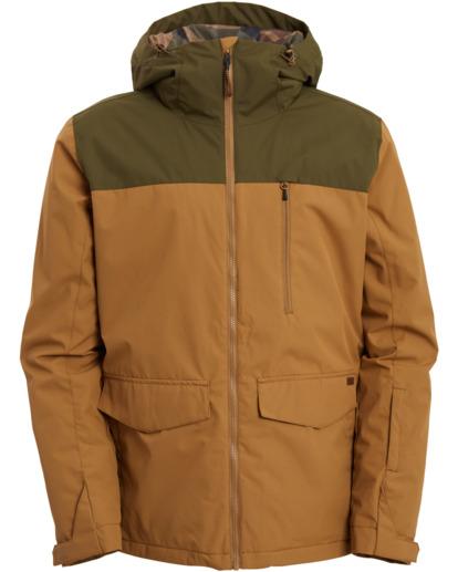 9 All Day - Jacket for Men Brown U6JM29BIF0 Billabong