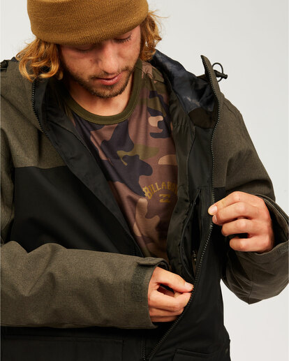 5 All Day - Jacket for Men Grey U6JM29BIF0 Billabong