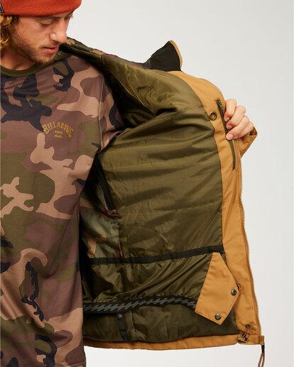 4 All Day - Jacket for Men Brown U6JM29BIF0 Billabong