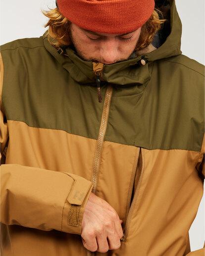 6 All Day - Jacket for Men Brown U6JM29BIF0 Billabong
