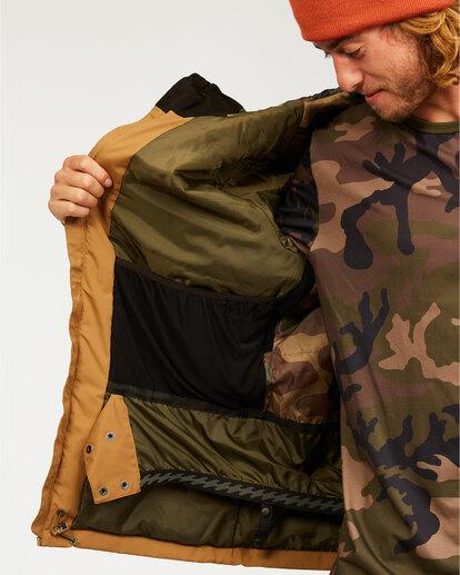 5 All Day - Jacket for Men Brown U6JM29BIF0 Billabong