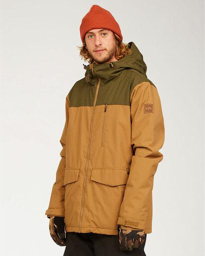 1 All Day - Jacket for Men Brown U6JM29BIF0 Billabong