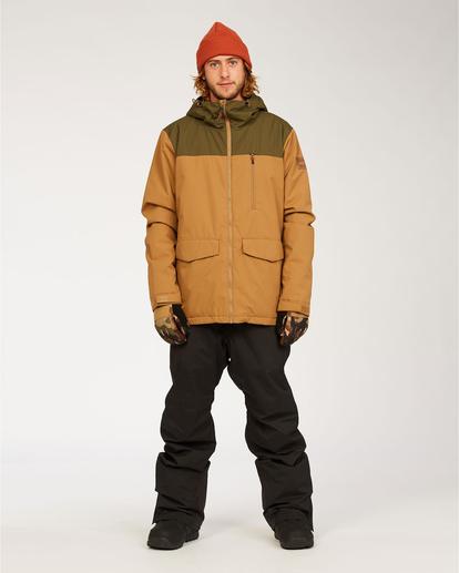 3 All Day - Jacket for Men Brown U6JM29BIF0 Billabong