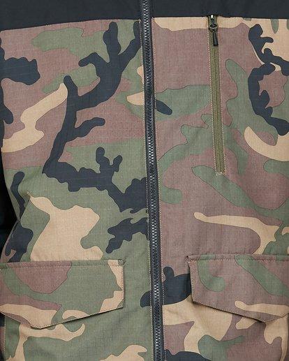 4 All Day 2L 10K Jacket Camo U6JM29S Billabong
