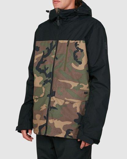 1 All Day 2L 10K Jacket Camo U6JM29S Billabong
