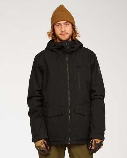 6 All Day Jacket Black U6JM29S Billabong