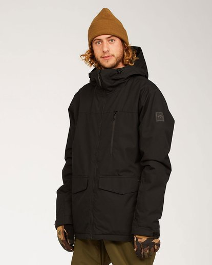 7 All Day Jacket Black U6JM29S Billabong