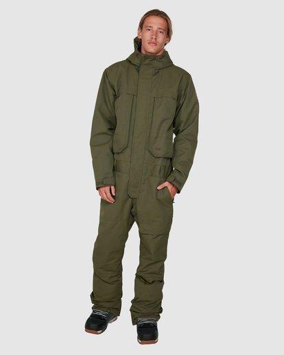 0 Fuller Suit Green U6JM31S Billabong