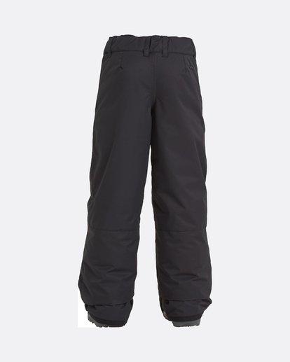 1 Grom - Pantalones para nieve para Chicos Negro U6PB10BIF0 Billabong