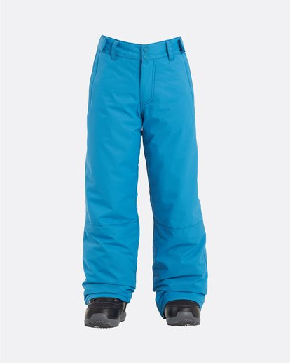 0 Grom - Snow Pants for Boys Blue U6PB10BIF0 Billabong