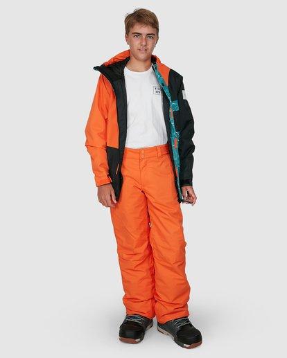 7 Grom Boys Pants Orange U6PB10S Billabong