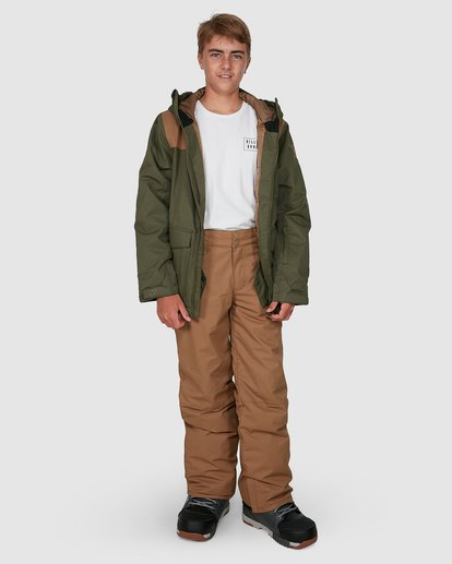 7 Grom Boys Pants Brown U6PB10S Billabong