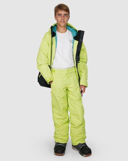 7 Grom Boys Pants Green U6PB10S Billabong