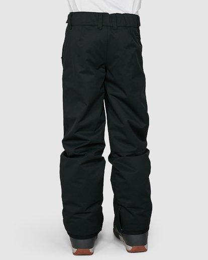 2 Grom Boys Pants Black U6PB10S Billabong