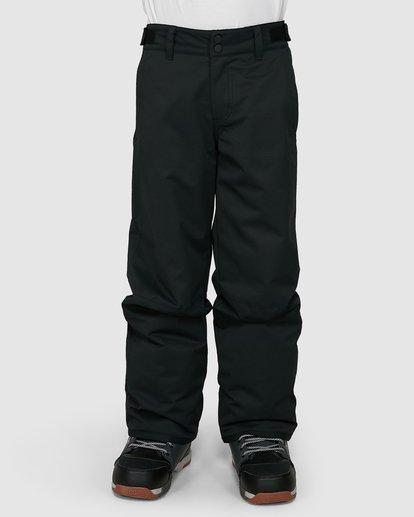 0 Grom Boys Pants Black U6PB10S Billabong