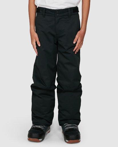 3 Grom Boys Pants Black U6PB10S Billabong