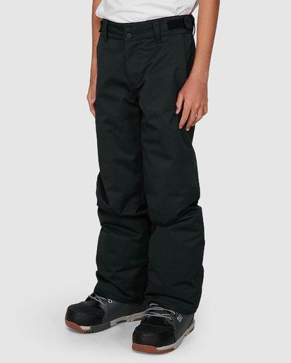4 Grom Boys Pants Black U6PB10S Billabong