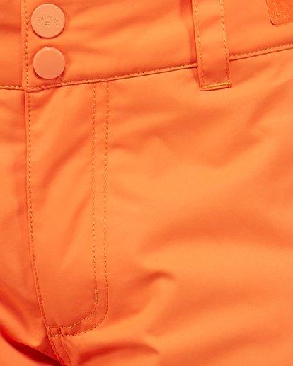 6 Grom Boys Pants Orange U6PB10S Billabong