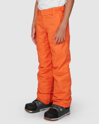 4 Grom Boys Pants Orange U6PB10S Billabong