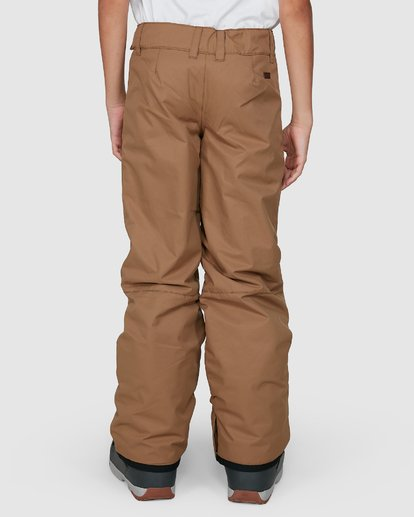 5 Grom Boys Pants Brown U6PB10S Billabong