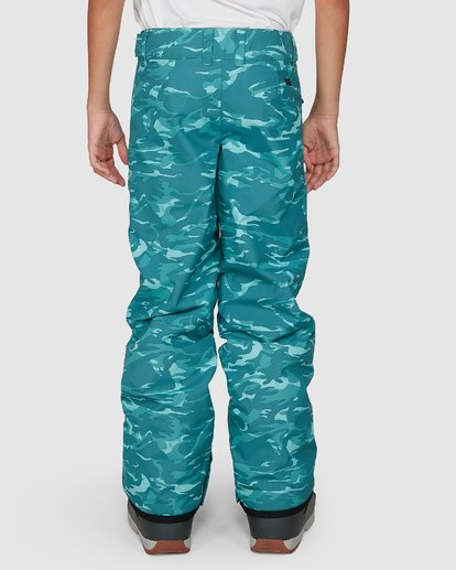 5 Grom Boys Pants Green U6PB10S Billabong