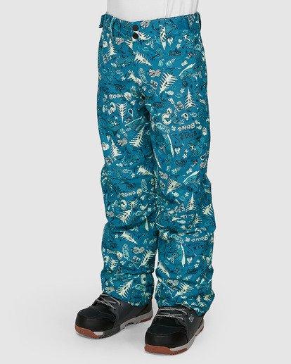 1 Grom Boys Pants Green U6PB10S Billabong