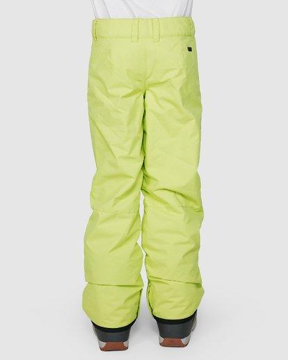 2 Boys 8-16 Grom Pants Green U6PB10S Billabong