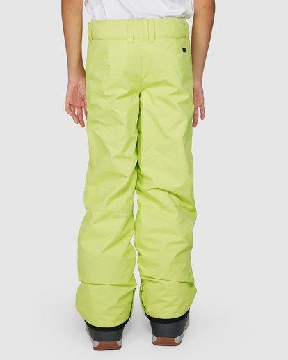 5 Boys 8-16 Grom Pants Green U6PB10S Billabong
