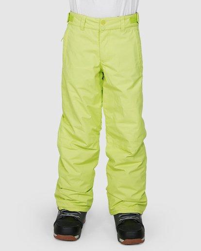 0 Grom Boys Pants Green U6PB10S Billabong
