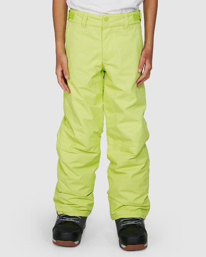 3 Grom Boys Pants Green U6PB10S Billabong