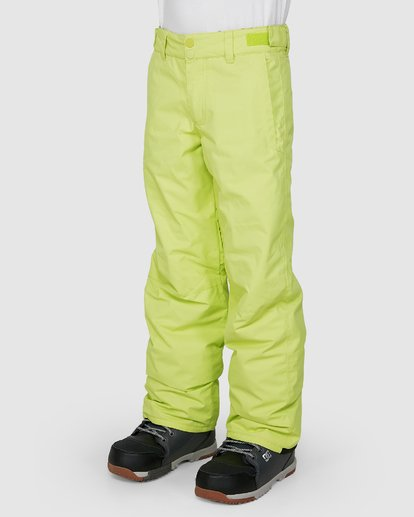 1 Boys 8-16 Grom Pants Green U6PB10S Billabong