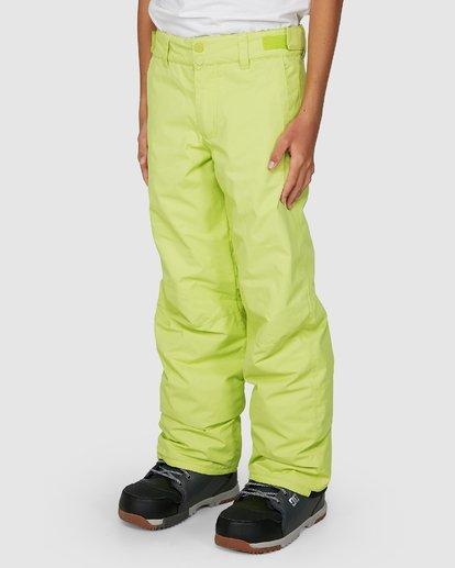 4 Grom Boys Pants Green U6PB10S Billabong