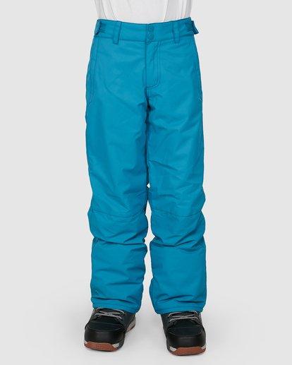 0 Boys 8-16 Grom Pants Blue U6PB10S Billabong