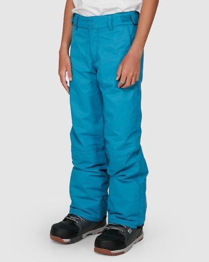 4 Boys 8-16 Grom Pants Blue U6PB10S Billabong
