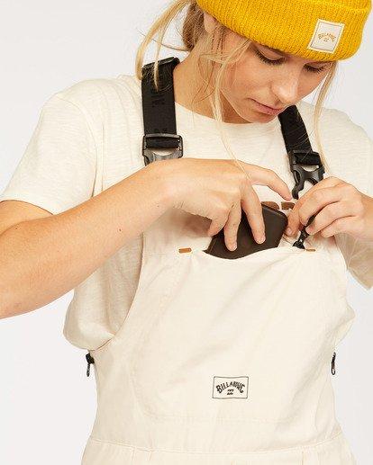 5 Adventure Division Collection Drifter Stx - Pantalones para nieve para Mujer Blanco U6PF20BIF0 Billabong