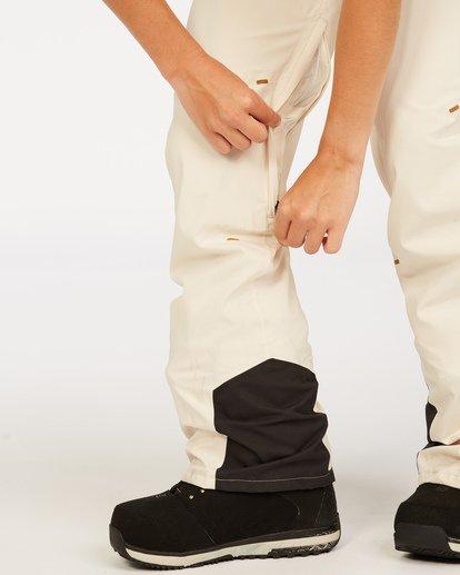6 Adventure Division Collection Drifter Stx - Pantalones para nieve para Mujer Blanco U6PF20BIF0 Billabong