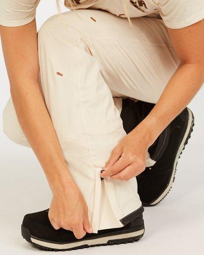 7 Adventure Division Collection Drifter Stx - Pantalones para nieve para Mujer Blanco U6PF20BIF0 Billabong