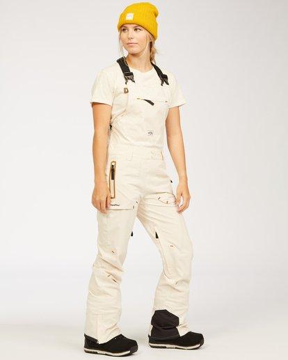 3 Adventure Division Collection Drifter Stx - Pantalones para nieve para Mujer Blanco U6PF20BIF0 Billabong