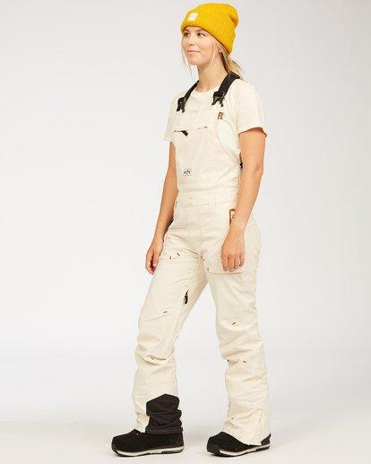 4 Adventure Division Collection Drifter Stx - Pantalones para nieve para Mujer Blanco U6PF20BIF0 Billabong