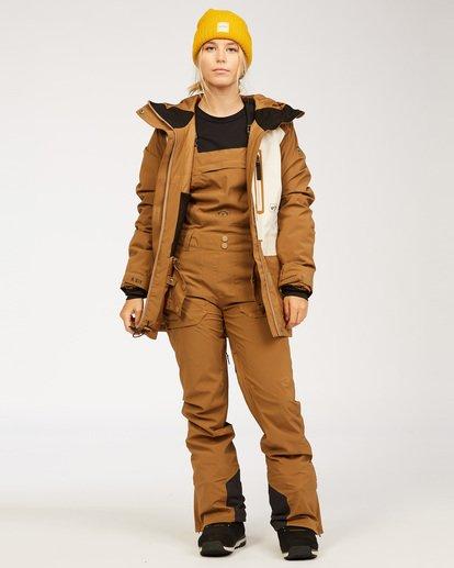 1 Adventure Division Collection Drifter Stx - Schneehose für Frauen Braun U6PF20BIF0 Billabong