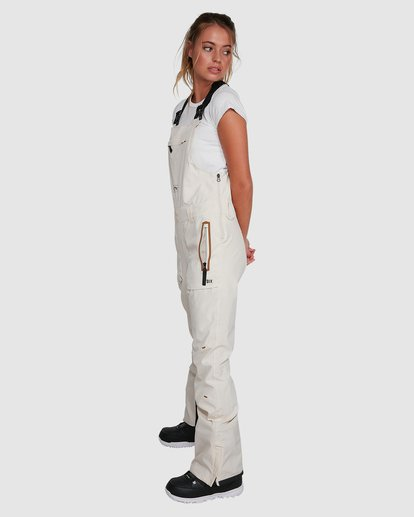 1 A/DIV Women's Drifter STX Snow Bib White U6PF20S Billabong