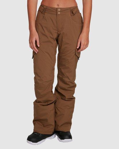 2 Nela Pants Brown U6PF21 Billabong