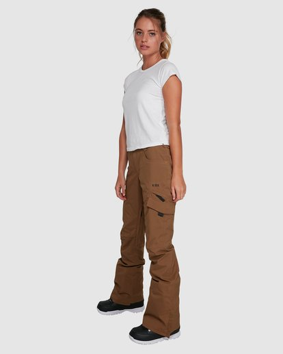1 Nela Pants Brown U6PF21 Billabong