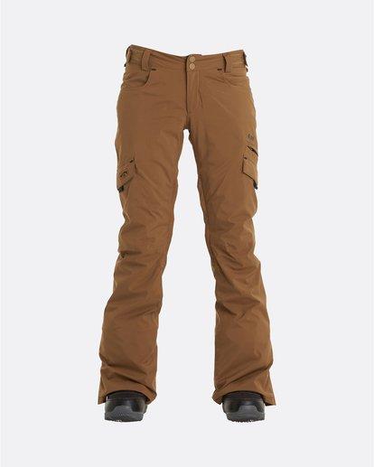 7 Adventure Division Collection Nela - Pantalones para nieve para Mujer Marron U6PF21BIF0 Billabong