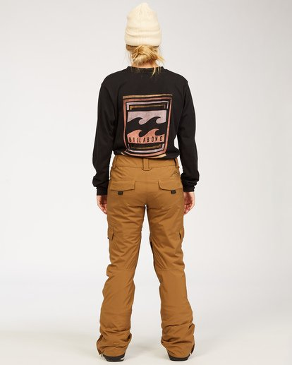 2 Adventure Division Collection Nela - Pantalones para nieve para Mujer Marron U6PF21BIF0 Billabong